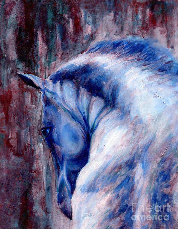 Horse Poster featuring the painting Horse Study 2 by Shelby Gilbert