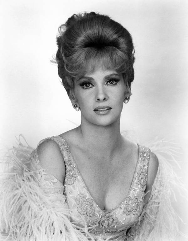 1960s Hairstyles Poster featuring the photograph Hotel Paradiso, Gina Lollobrigida, 1966 by Everett