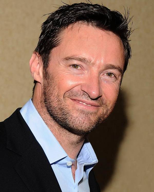 Hugh Jackman Poster featuring the photograph Hugh Jackman At Arrivals For Drama by Everett