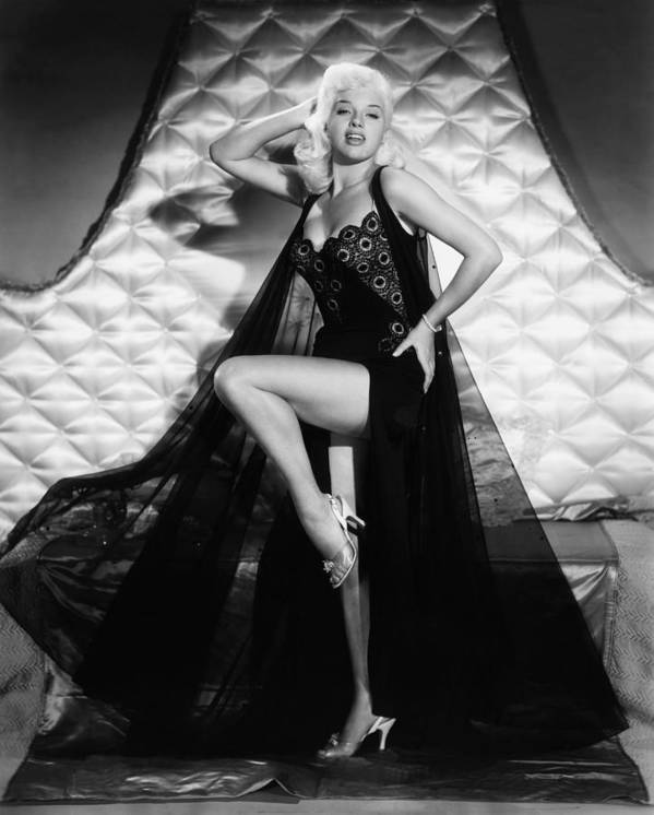 1950s Portraits Poster featuring the photograph I Married A Woman, Diana Dors, 1958 by Everett