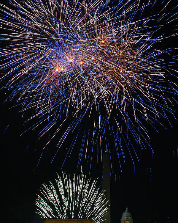 4th Of July Poster featuring the photograph Independence Day In Dc 5 by David Hahn