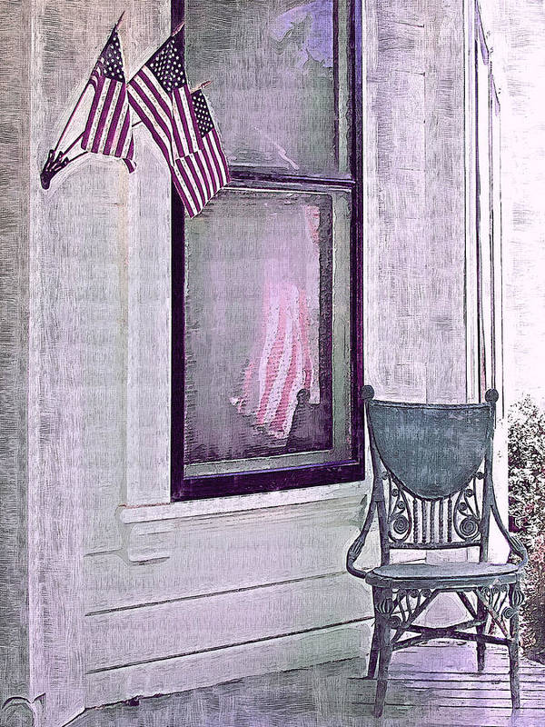 Vintage Poster featuring the photograph Independence Day by Susan Lee Giles