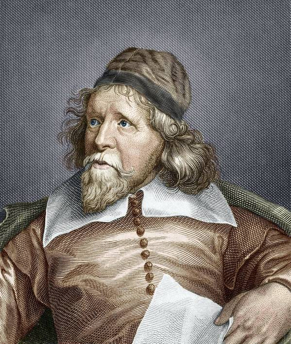 Inigo Jones Poster featuring the photograph Inigo Jones, English Architect by Sheila Terry