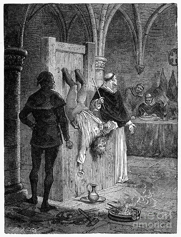 16th Century Poster featuring the photograph Inquisition: Torture by Granger