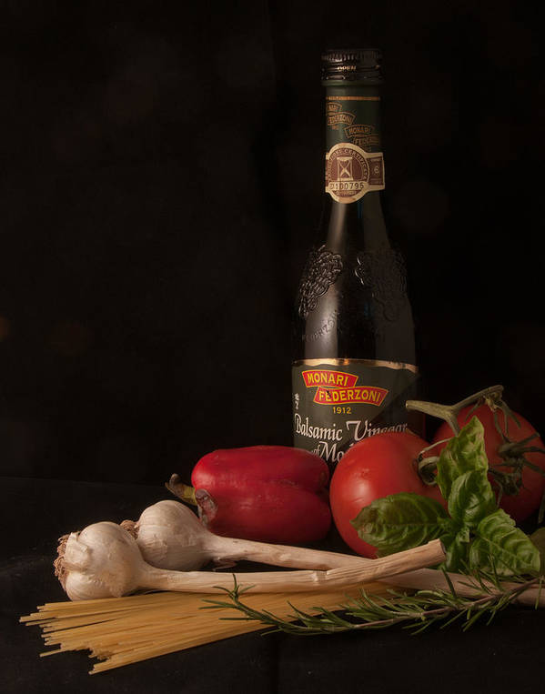 Still Life Poster featuring the photograph Italian Palate Number 1 by Constance Sanders