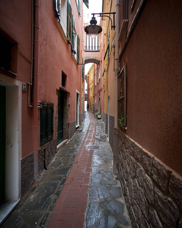 Monterosso Poster featuring the photograph Italian Pathway by Mike Reid