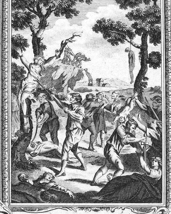 16th Century Poster featuring the photograph Italy: Protestant Martyrs by Granger