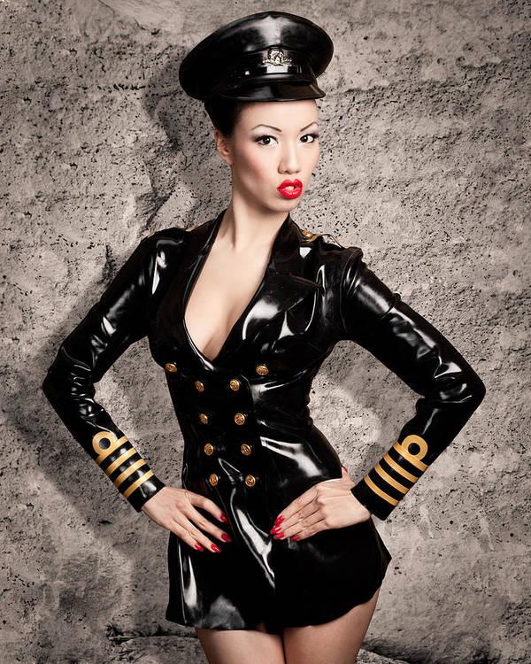 Jade Vixen Military 1143 Poster By Gary Heller-9155