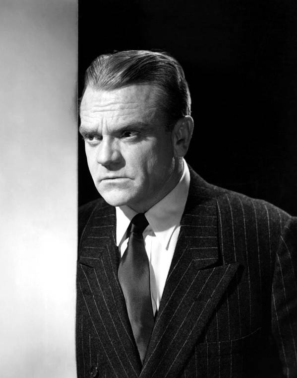 1950s Portraits Poster featuring the photograph James Cagney, Portrait, 1950s by Everett