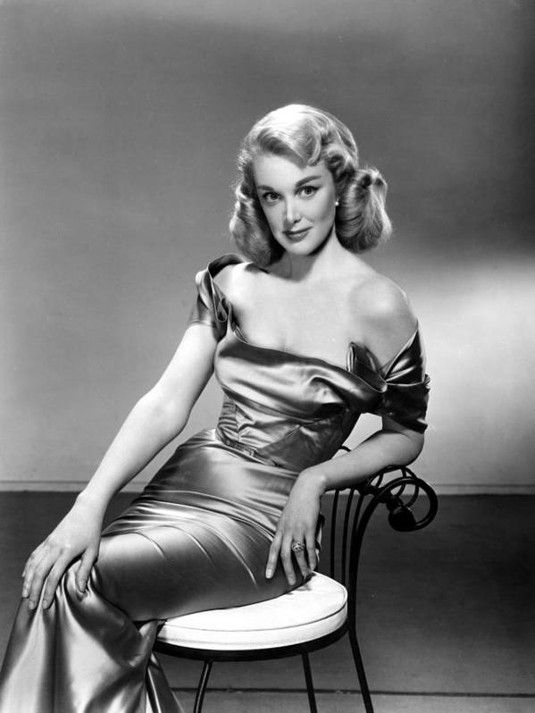1950s Fashion Poster featuring the photograph Jan Sterling, 1950s by Everett