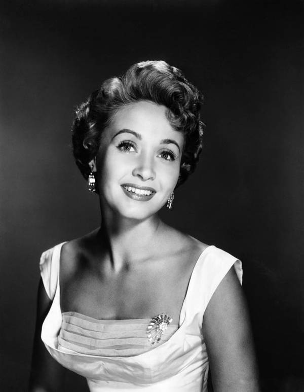 1950s Portraits Poster featuring the photograph Jane Powell, Ca. 1950s by Everett