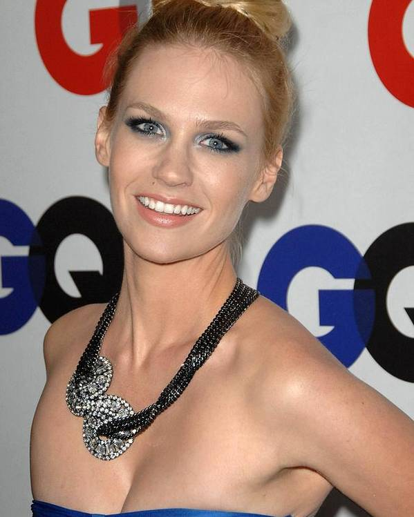 January Jones Poster featuring the photograph January Jones At Arrivals by Everett