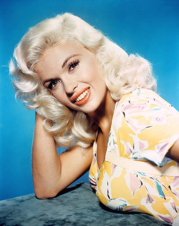 1950s Portraits Poster featuring the photograph Jayne Mansfield, 1950s by Everett