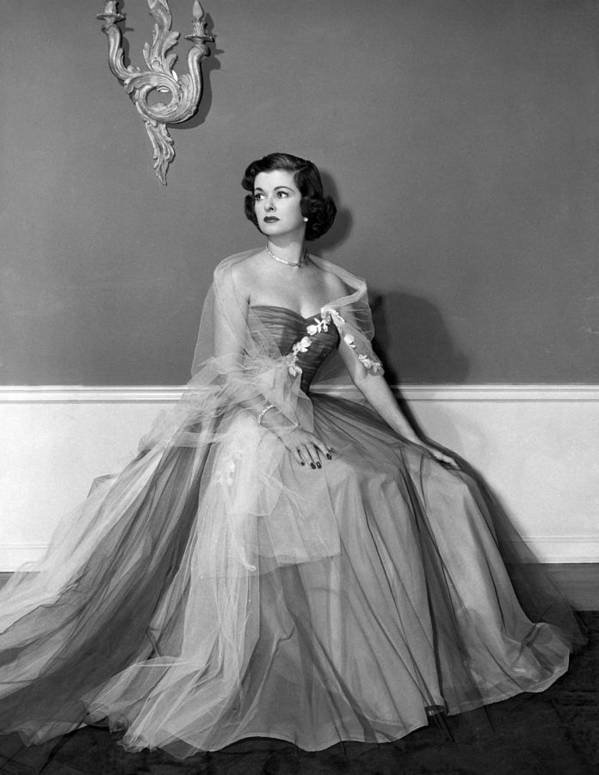 11x14lg Poster featuring the photograph Joan Bennett, Ca. Early 1950s by Everett