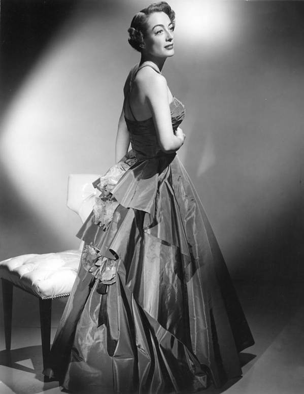 1950s Fashion Poster featuring the photograph Joan Crawford, Circa Early 1950s by Everett