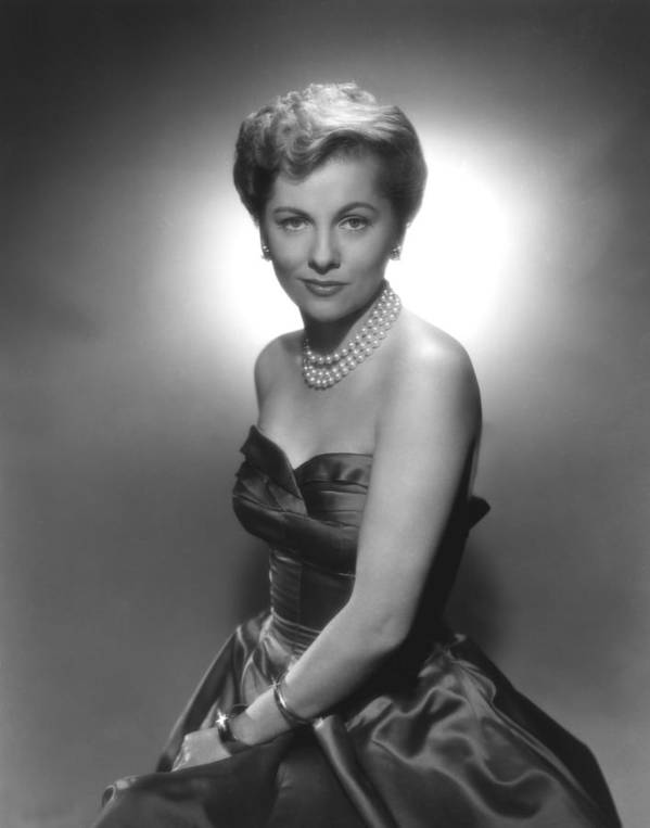 1950s Fashion Poster featuring the photograph Joan Fontaine, Ca. 1950s by Everett