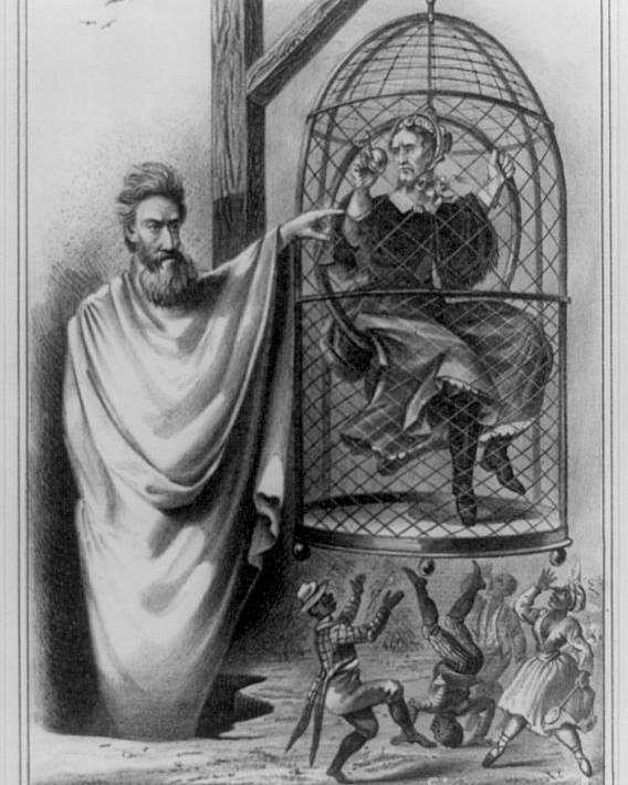 History Poster featuring the photograph John Brown Exhibiting His Hangman, 1863 by Photo Researchers