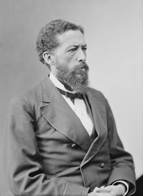 History Poster featuring the photograph John Mercer Langston 1829-1897 by Everett