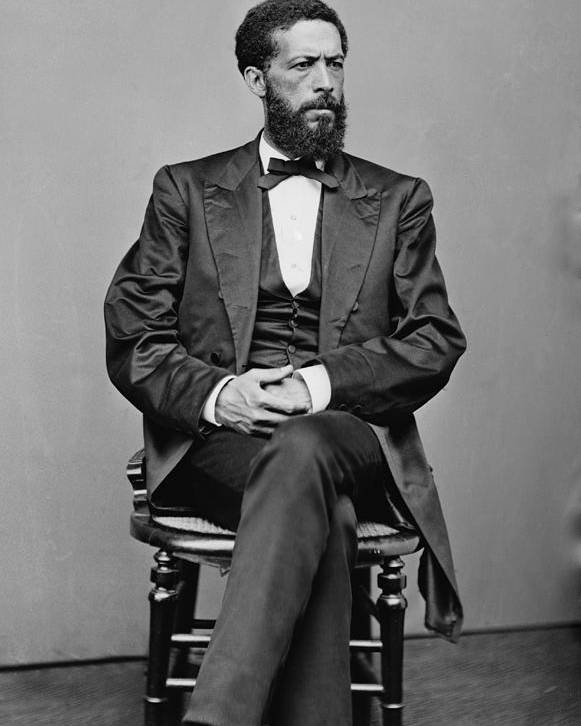History Poster featuring the photograph John Mercer Langston 1829-1897, Son by Everett