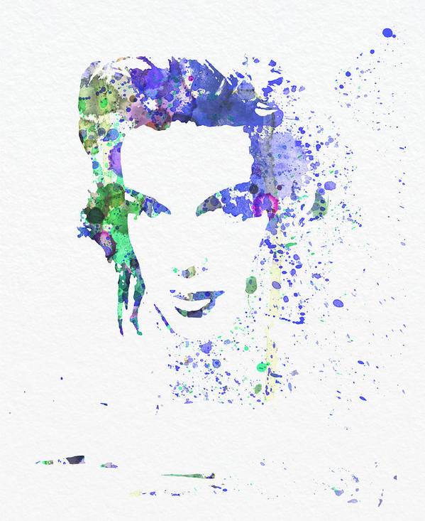 Poster featuring the painting Judy Garland 2 by Naxart Studio