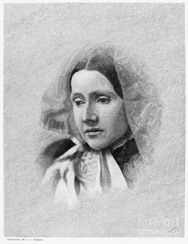 19th Century Poster featuring the photograph Julia Ward Howe (1819-1910) by Granger