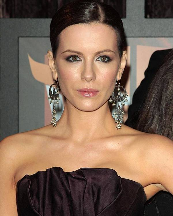 14th Annual Critics'' Choice Awards Poster featuring the photograph Kate Beckinsale At Arrivals For 14th by Everett