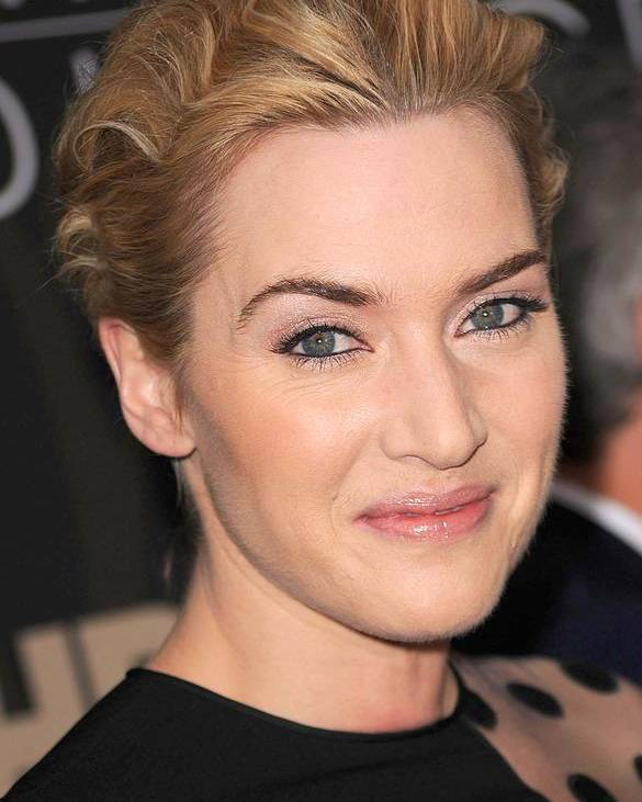 Kate Winslet Poster featuring the photograph Kate Winslet At Arrivals For Mildred by Everett