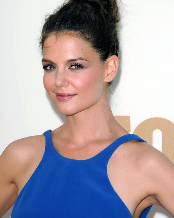 Katie Holmes Poster featuring the photograph Katie Holmes At Arrivals For The 63rd by Everett
