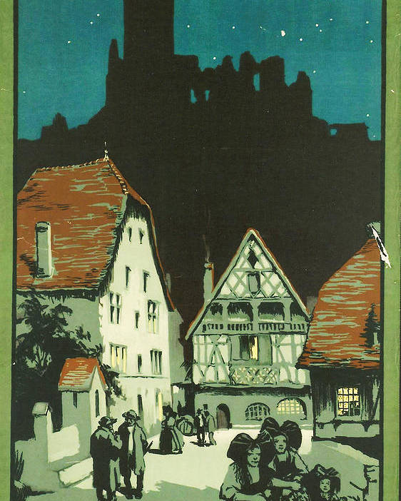 Agriculture Poster featuring the digital art Kaysersberg Alsace by Georgia Fowler