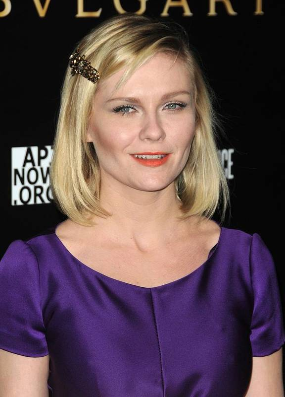 Kirsten Dunst Poster featuring the photograph Kirsten Dunst At Arrivals For Bvlgari by Everett