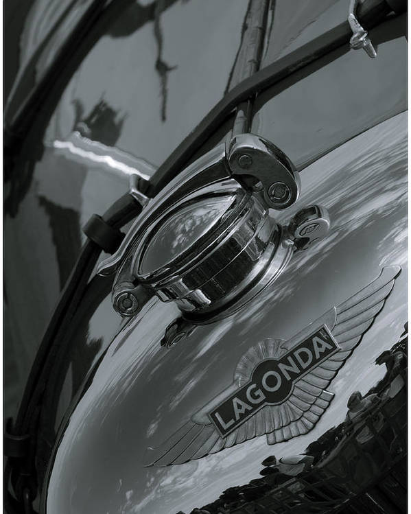 Lagonda Poster featuring the photograph Lagonda by Nigel Jones