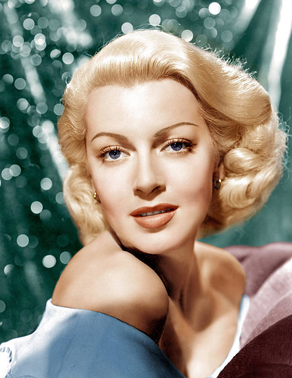 1940s Portraits Poster featuring the photograph Lana Turner, Mgm Portrait, Ca. 1941 by Everett