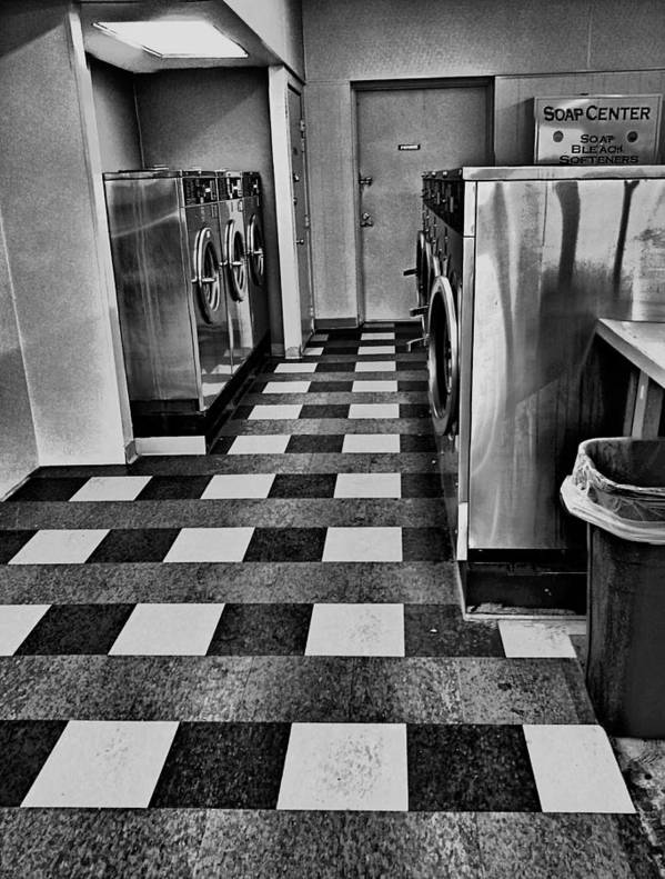 Laundry Poster featuring the photograph Laundry Darks by Jimmy Ostgard