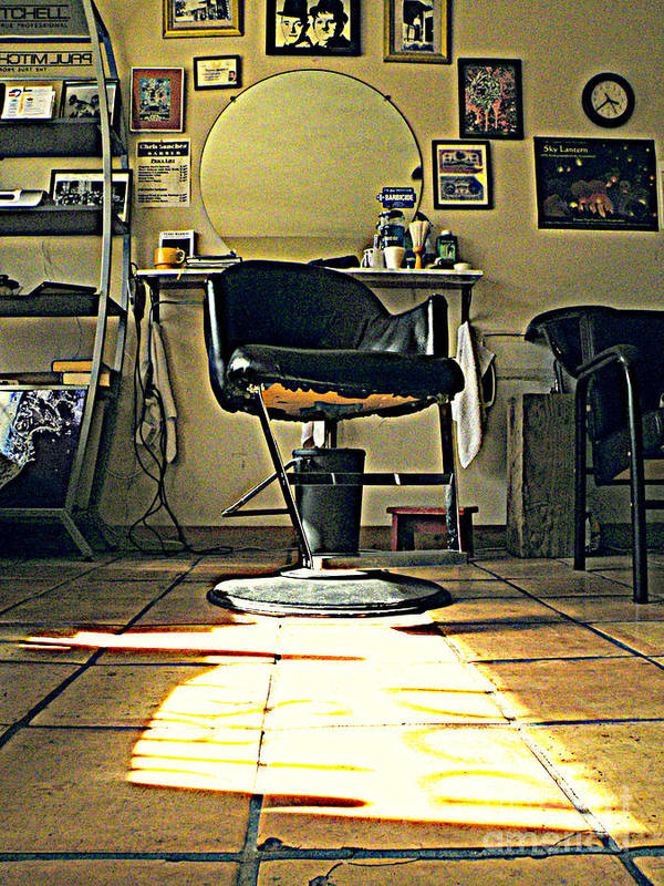 Barber Shop Poster featuring the photograph Lazy Day by Joe Jake Pratt