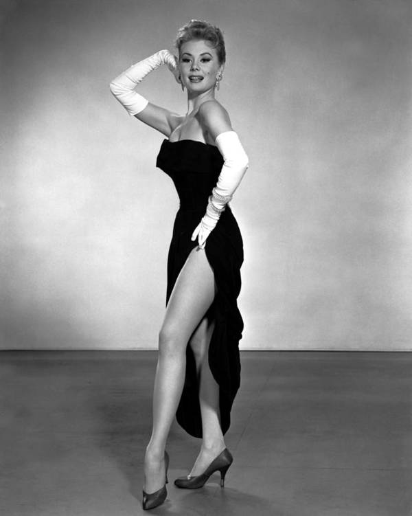 1950s Portraits Poster featuring the photograph Les Girls, Mitzi Gaynor, 1957 by Everett