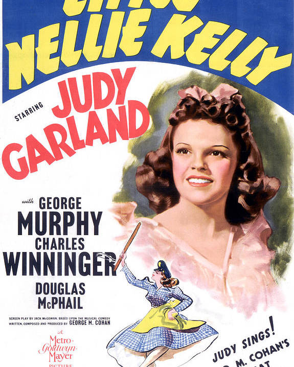 1940 Movies Poster featuring the photograph Little Nellie Kelly, Judy Garland, 1940 by Everett