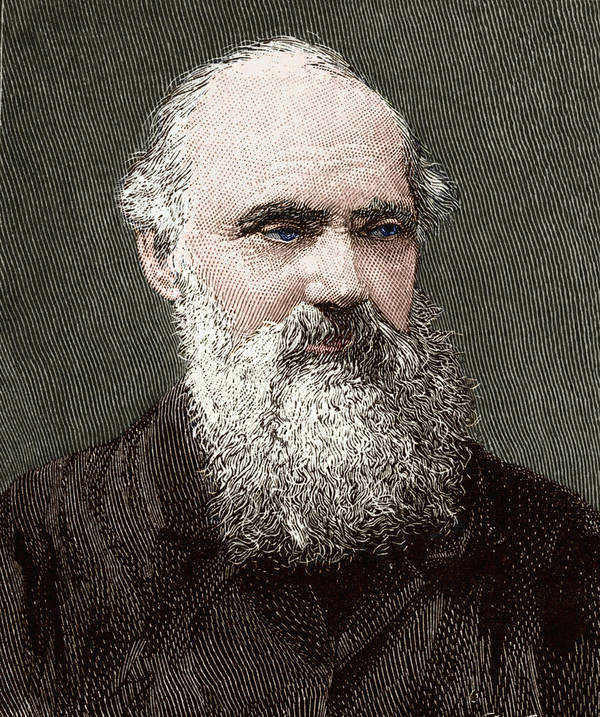 Kelvin Poster featuring the photograph Lord Kelvin, Scottish Physicist by Sheila Terry