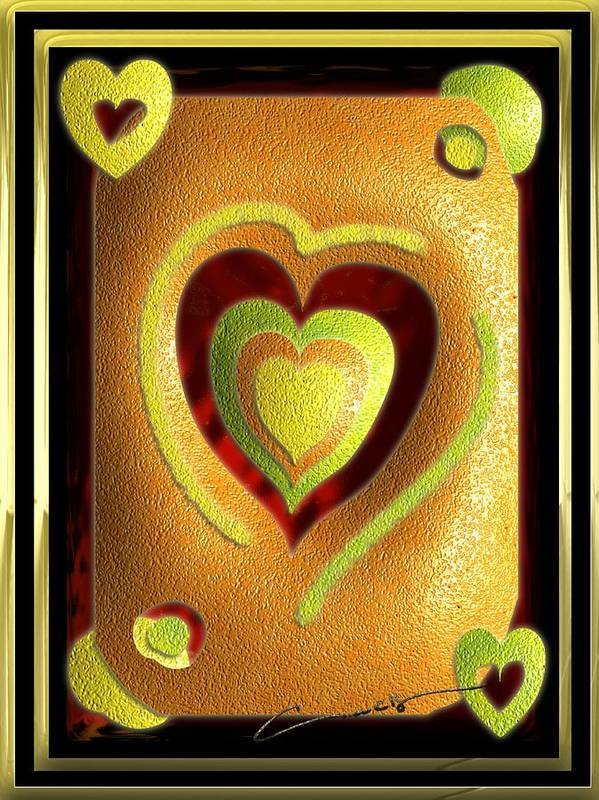 Love Poster featuring the digital art Love Of Fruit And Jello by Michael Hurwitz