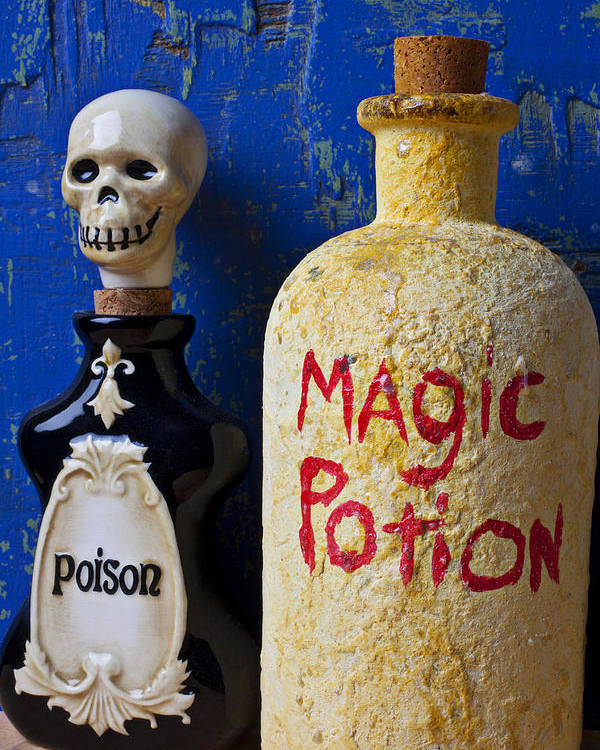 Magic Poster featuring the photograph Magic Potion by Garry Gay