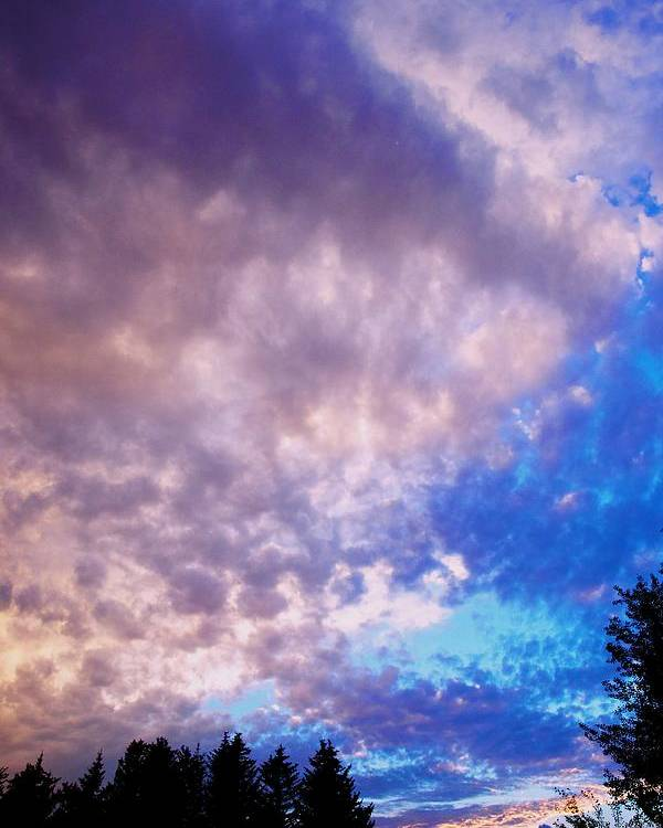 Sunset Poster featuring the photograph Marble Sky 2 by Kevin Bone