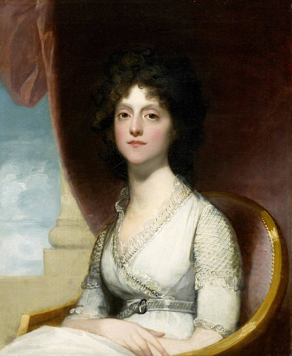 Female Poster featuring the painting Marianne Ashley Walker by Gilbert Stuart