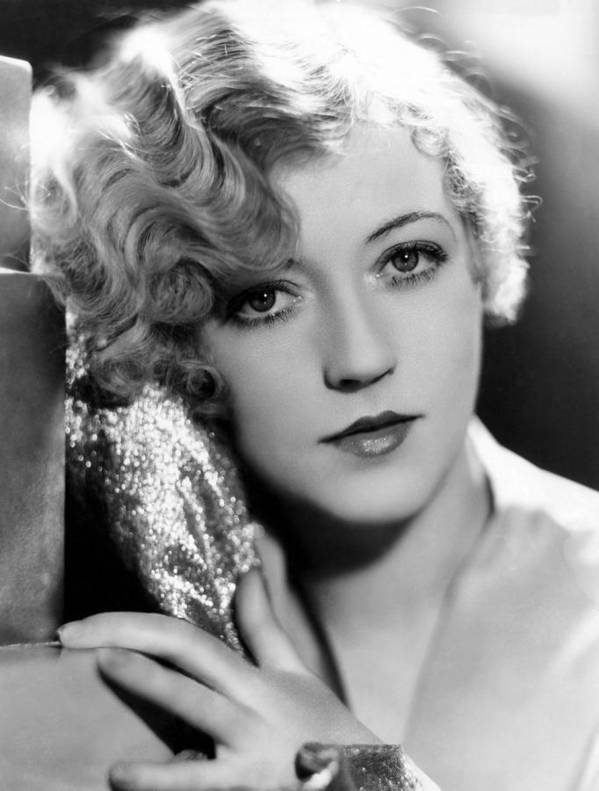 1920s Portraits Poster featuring the photograph Marion Davies, 1928 by Everett