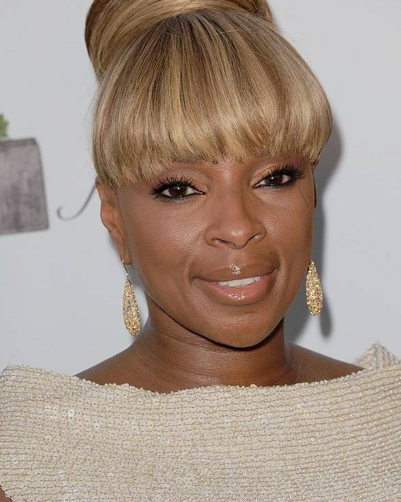 Mary J Blige Poster featuring the photograph Mary J Blige At Arrivals For 2011 by Everett