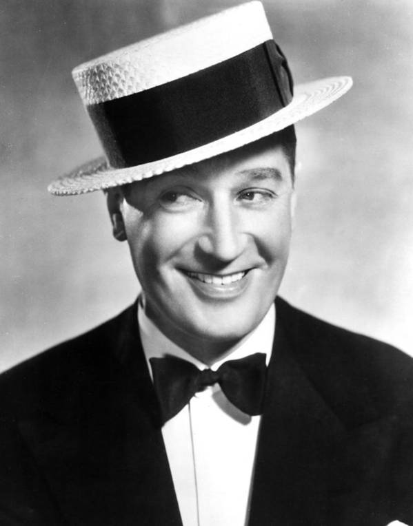 Bowtie Poster featuring the photograph Maurice Chevalier, 1930s by Everett