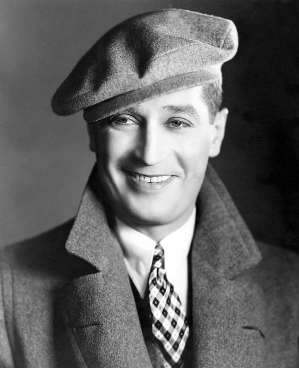 1930s Poster featuring the photograph Maurice Chevalier, Ca. 1930 by Everett