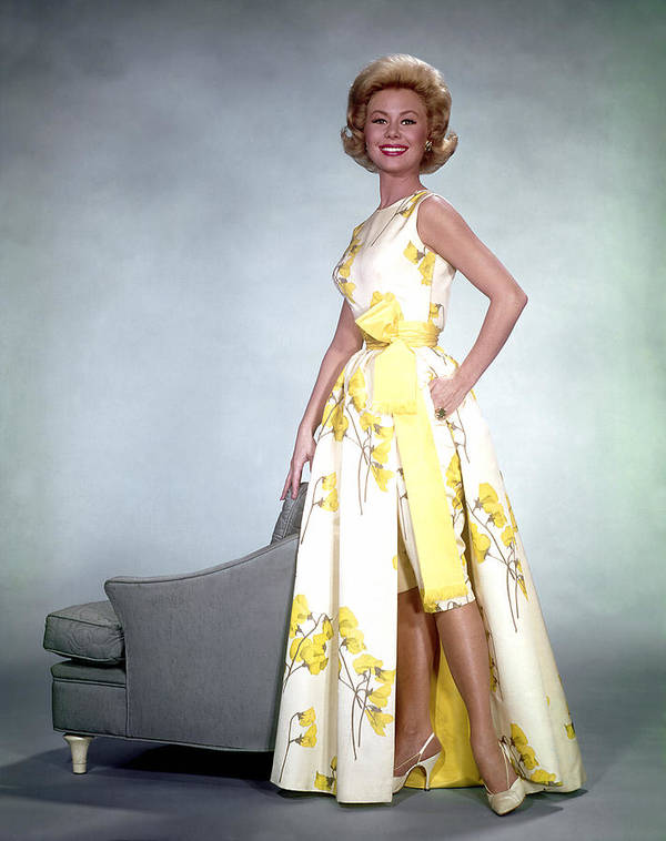 1950s Fashion Poster featuring the photograph Mitzi Gaynor, 1950s by Everett