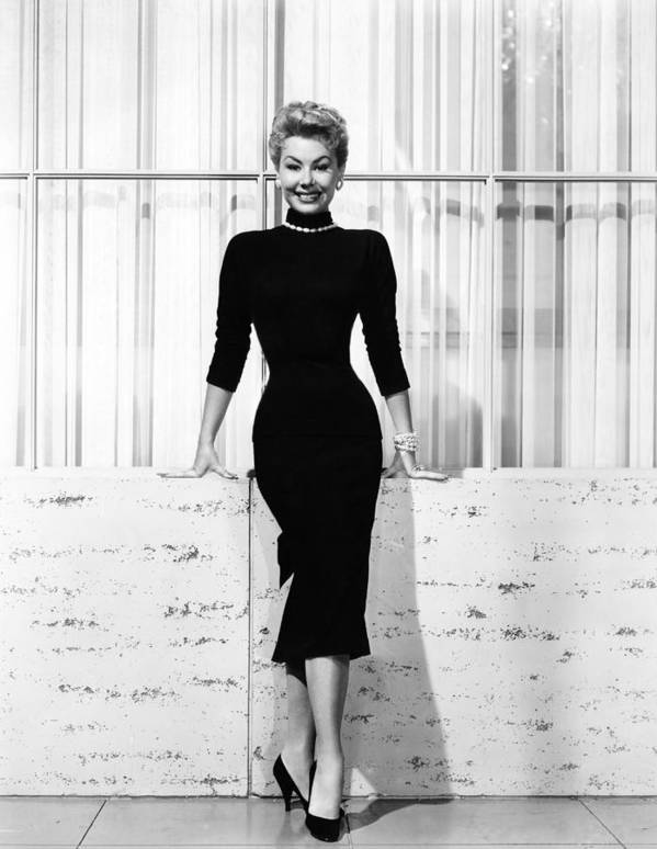 1950s Fashion Poster featuring the photograph Mitzi Gaynor, Ca. 1950s by Everett