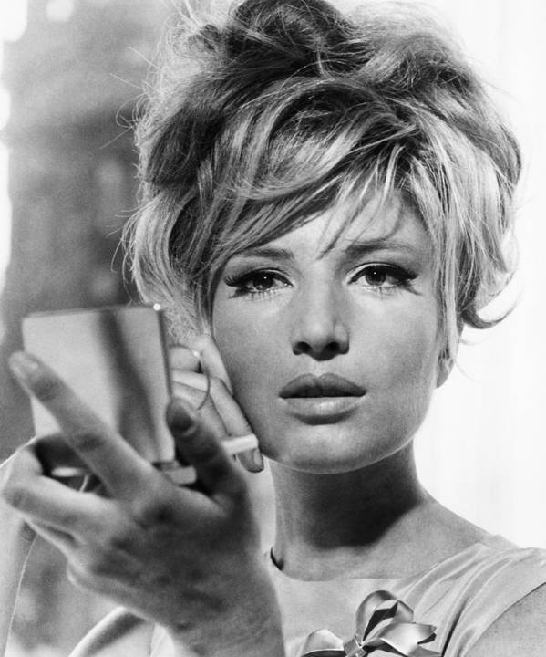 1960s Hairstyles Poster featuring the photograph Modesty Blaise, Monica Vitti, 1966 by Everett