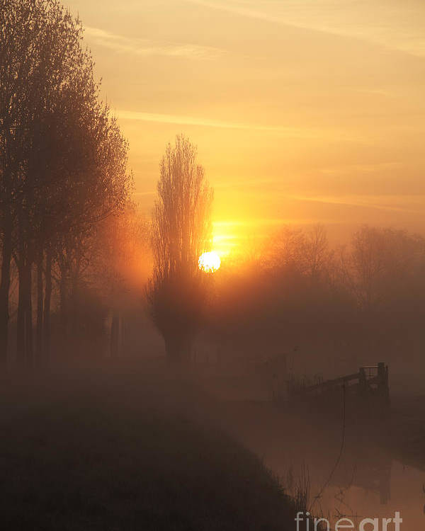Sunrise Poster featuring the photograph Morning Moods by LHJB Photography