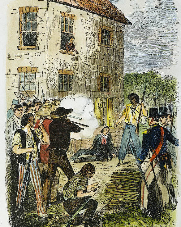 1844 Poster featuring the photograph Murder Of Joseph Smith by Granger